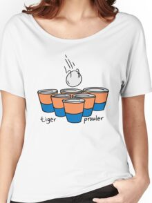 Beer Pong Auburn Tiger Prowler Women's Relaxed Fit T-Shirt