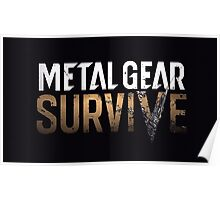 METAL GEAR - SURVIVE. Poster