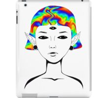 Out Of This World Collection - Alien Acid iPad Case/Skin