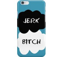 Jerk - Bitch The Fault in Our Stars Clouds iPhone Case/Skin