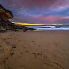 Tamarama Winter Sunrise 2016 by Toni McPherson