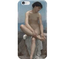 The Bather (1879) by William Bouguereau  iPhone Case/Skin