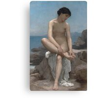 The Bather (1879) by William Bouguereau  Canvas Print