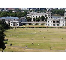 Sunny day at Greenwich Park Photographic Print