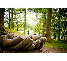 IN GOOD HANDS Photographic Print