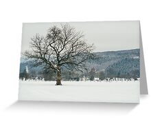 Glorious Winter Tree Greeting Card