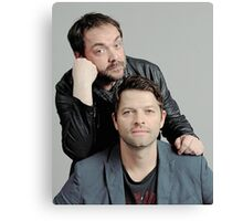 Misha and Mark Canvas Print