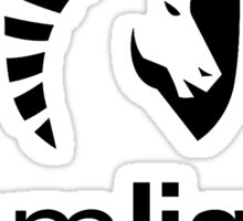 Team Liquid Logo - Black Sticker