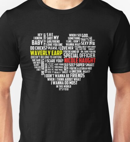 Wayhaught quotes - best of ; Unisex T-Shirt