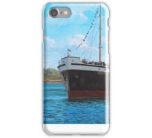 SS Shieldhall on a cruise in the Solent iPhone Case/Skin
