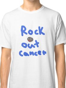 Rock Out Cancer Classic T-Shirt