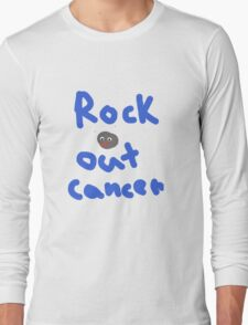 Rock Out Cancer Long Sleeve T-Shirt