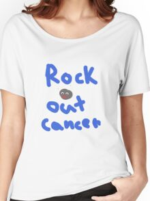 Rock Out Cancer Women's Relaxed Fit T-Shirt