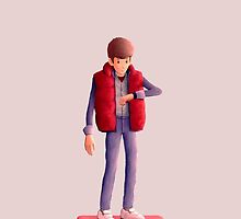 Marty McFly by Arnold Kim