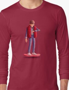 Marty McFly Long Sleeve T-Shirt