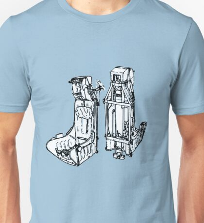 Ejection seat... Unisex T-Shirt