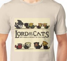 Lord Of the Cats - The Furrlowship of the Ring top edition Unisex T-Shirt