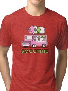 Food Trucks - Smoothie Tri-blend T-Shirt
