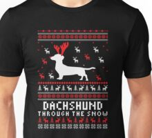 Dachshund - Dachshund Ugly Christmas T-shirts Unisex T-Shirt