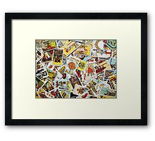 Tarot Card Collection Framed Print