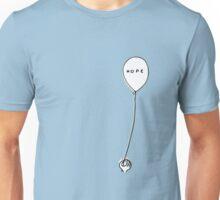 hope. hopeless. hope. hopeless. Unisex T-Shirt