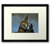 Assertion Vol. II @londonlights Framed Print