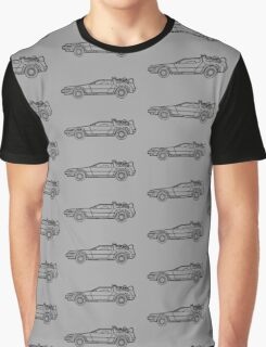 Delorean Line - Smile Design 2015 Graphic T-Shirt
