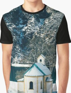Church By The Achensee Graphic T-Shirt