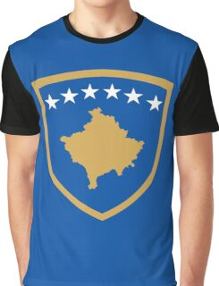 Kosovo Coat of Arms Graphic T-Shirt