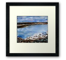 Tranquil bay Framed Print