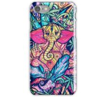 Psychedelic Lord Ganesha  iPhone Case/Skin