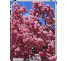 Tree With Pink Blossoms iPad Case/Skin