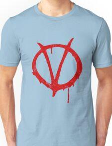 V for Vendetta Vintage Symbol Unisex T-Shirt