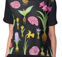 Spring Bulbs and Brains  Chiffon Top