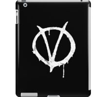 V for Vendetta Vintage Symbol iPad Case/Skin