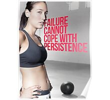 Failure Cannot Cope With Persistence Poster