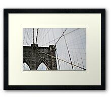 The Great Bridge Framed Print