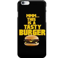 This is a tasty burger iPhone Case/Skin