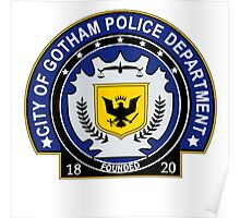 Gotham Police Department Poster