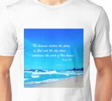 Psalm 19:1 Unisex T-Shirt