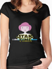 STAR TIME Women's Fitted Scoop T-Shirt
