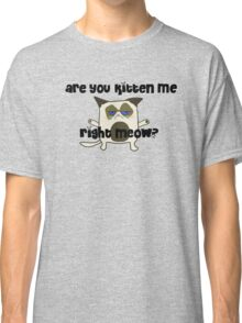 Are You Kitten Me?  Classic T-Shirt