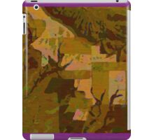 Topographical Art: Maps & Apps Series iPad Case/Skin