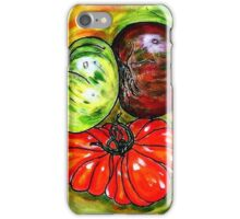 Trois tomates iPhone Case/Skin