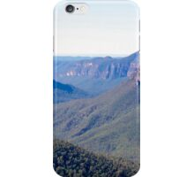 View from Govett's Leap, Blackheath, NSW iPhone Case/Skin