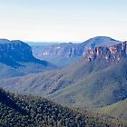 View from Govett's Leap, Blackheath, NSW by GeorgeOne