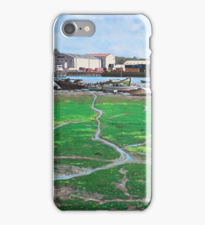 Northam boat yards and old boats iPhone Case/Skin