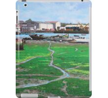 Northam boat yards and old boats iPad Case/Skin