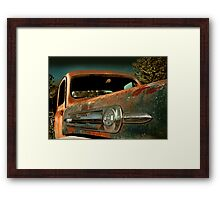 Abandoned Ford F-1 truck Framed Print