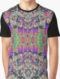 Tripping on Cats Graphic T-Shirt